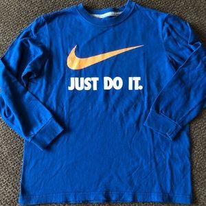 Boy's Nike Just Do It Cotton Tee